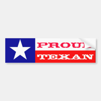Texan fier autocollant de voiture