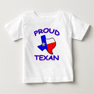 Texan fier de bébé du Texas T-shirt Pour Bébé