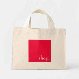 texte blanc customizeable sur le sac fourre-tout à