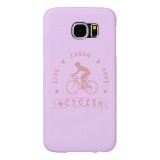 Texte de Live Laugh Love Cycle de Madame (rose)