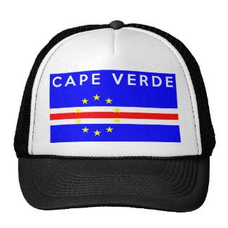 texte de nom de symbole de drapeau de pays du Cap Casquettes De Camionneur