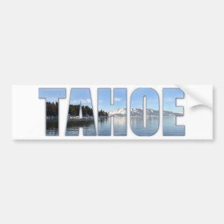 Texte du lac Tahoe Autocollant De Voiture