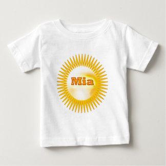 Texte élégant de NOVINO T-shirt Pour Bébé