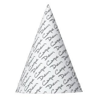 Texte frais moderne de CARPE DIEM Chapeaux De Fètes