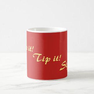 texte potable de slogan d'amusement original mug