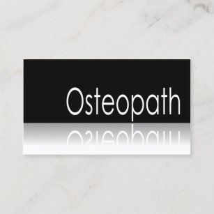 Cartes De Visite Osteopathe