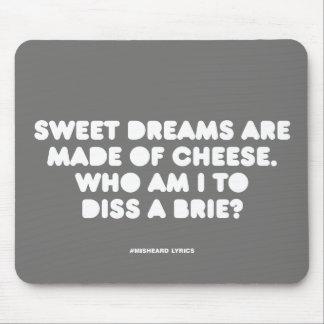 Textes misheard typographiques drôles de chanson tapis de souris