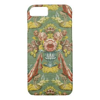 Textile avec un motif floral de répétition coque iPhone 7