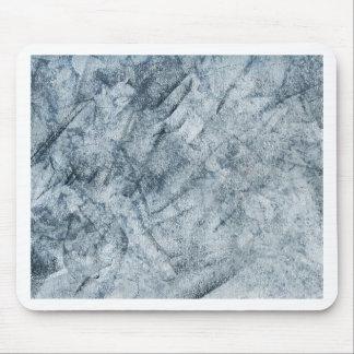 Texture abstraite de Chack de gris bleu Tapis De Souris