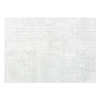 Texture blanche d'arrière - plan de briques de mur carte de visite grand format