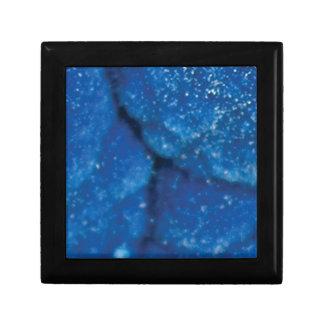 texture bleue d'étincelle boîte à souvenirs
