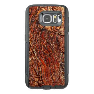Texture brun-rougeâtre de roche