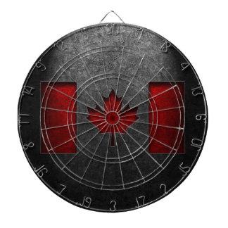 Texture canadienne de pierre de drapeau jeux de fléchettes