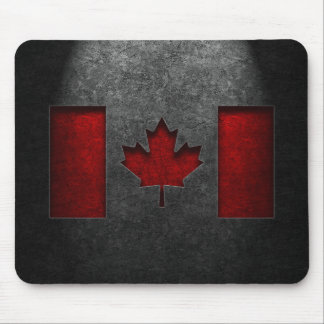 Texture canadienne de pierre de drapeau tapis de souris