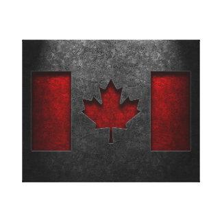 Texture canadienne de pierre de drapeau toile