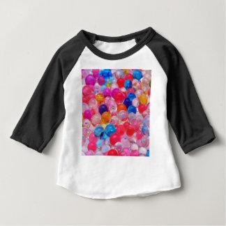 texture colorée de boules de gelée t-shirt pour bébé
