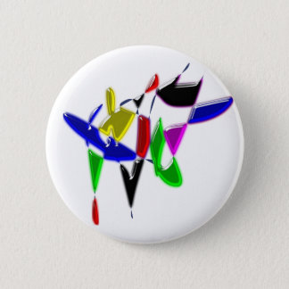 Texture d'art moderne badge