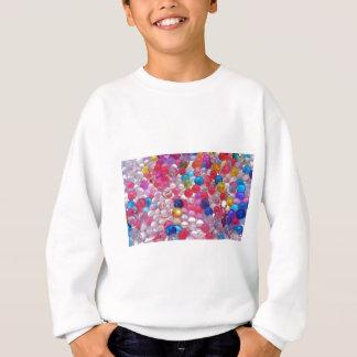 texture de boules de gelée de colore sweatshirt