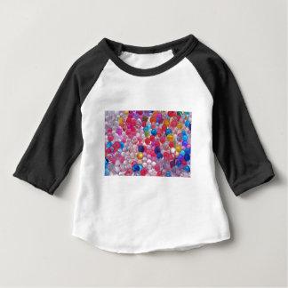 texture de boules de gelée de colore t-shirt pour bébé