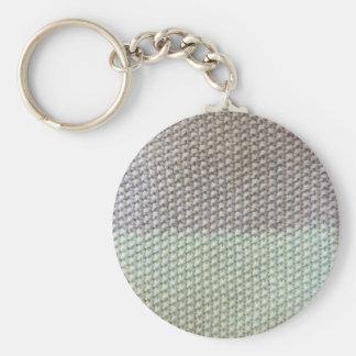 Texture de corde gris by SIRAdesign Vienna 2015 Porte-clé Rond