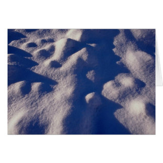 Texture de dérive de neige carte de vœux