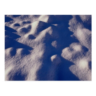 Texture de dérive de neige cartes postales