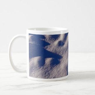 Texture de dérive de neige mugs