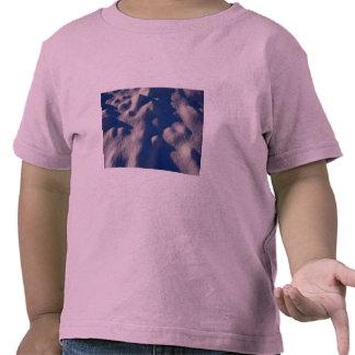 Texture de dérive de neige t-shirt