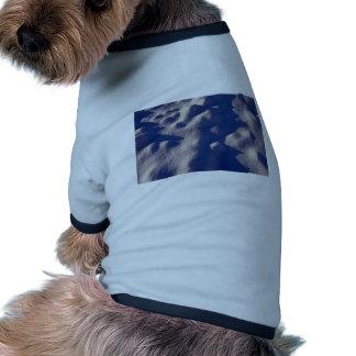 Texture de dérive de neige manteaux pour chien