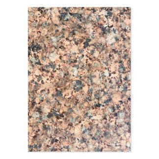 Texture de granit carte de visite grand format