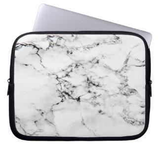 Texture de marbre housses ordinateur portable