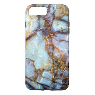 Texture de marbre renversante coque iPhone 7 plus