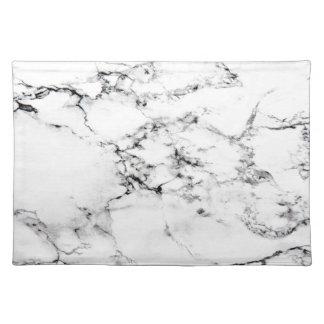 Texture de marbre sets de table
