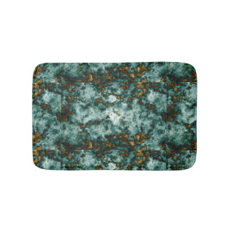 Texture de marbre verte avec des veines tapis de bain