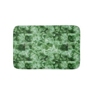 Texture de marbre verte tapis de bain