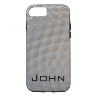 Texture de motif de boule de golf coque iPhone 7