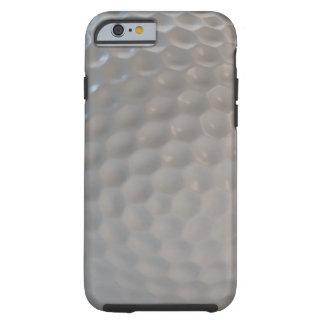 Texture de motif de boule de golf coque tough iPhone 6