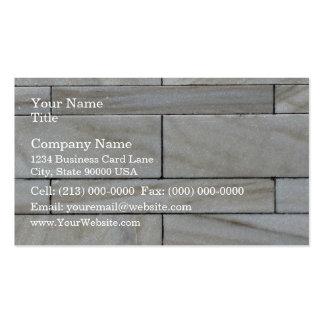 Texture de tuile empilée de mur en pierre carte de visite standard