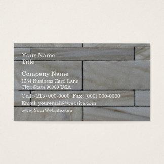 Texture de tuile empilée de mur en pierre cartes de visite
