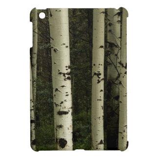 Texture d'un portrait de forêt étui iPad mini
