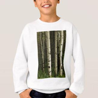 Texture d'un portrait de forêt sweatshirt