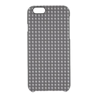 Texture en acier cloutée coque iPhone 6/6S