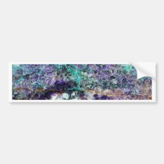 texture en pierre 4.JPG d'améthyste Autocollant De Voiture