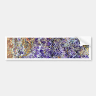texture en pierre 5.JPG d'améthyste Autocollant De Voiture