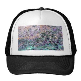 texture en pierre d'améthyste casquette trucker