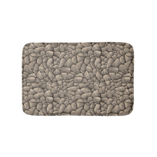 Texture en pierre de bande dessinée tapis de bain