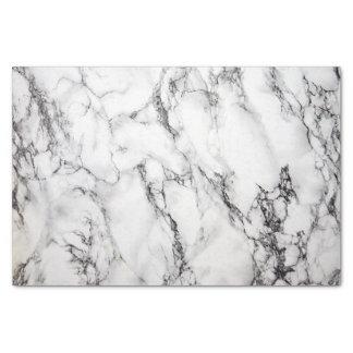 texture en pierre de marbre noire et blanche papier mousseline