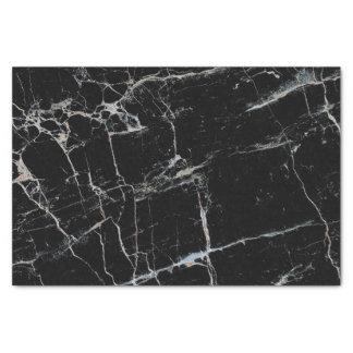 texture en pierre de marbre noire papier mousseline