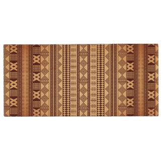 Texture ethnique de Brown Clé USB 2.0 En Bois