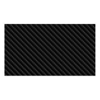 Texture étroitement tissée de fibre de carbone de  carte de visite